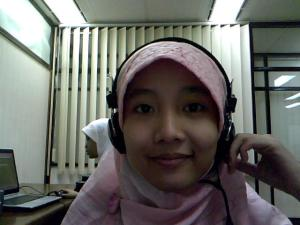 me n my lovely headset...